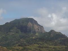 Mountain overlooking Golf Course