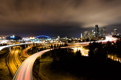 Seattle (judd.furlong) Tags: seattle longexposure nightphotography cityscape seattlelowlight