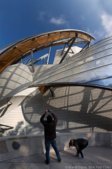 FLV. FONDATION LOUIS VUITTON , Paris, France (Gaston Batistini) Tags: paris france bernard frank louis gehry panoramic architect stitched vuitton fondation batistini flv arnault gbatistini gastonbatistini