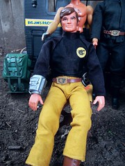 Mattel's Big Jim P.A.C.K, Gold Commander (atjoe1972) Tags: vintage toys actionfigure retro pack 70s beast 1970s camper seventies mattel bigjim atjoe1972