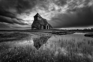 Church on the marsh