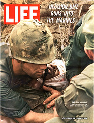 life vietnam war photos (kbc.3333) Tags: life magazine us photo marine politics wounded vietnam viet cover american larry revolution magazines press casualties dated burrows cong unspecified timeincown 10281966 6020913