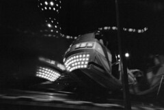 Brack Dance (FamousPotato) Tags: bw 35mm dance lomo lomography nightshot erfurt thuringia nachtaufnahme 2014 rummel rpx konstruktor caffenolcl bwfp