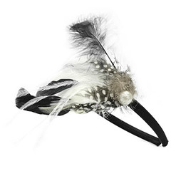 Feather headband 1A