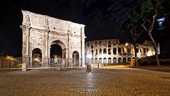 Arco di Costantino (Facciamo2Scatti) Tags: roma natale arco foriimperiali colosseo arcodicostantino facciamo2scatti alessiobrinati