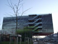 "Lyon - Sige ""GL Events"" (corno.fulgur75) Tags: france architecture frankreich lyon lione frana rhne frankrijk francia francie confluence frankrig lyons modernbuilding frankrike rhnealpes francja odiledecq decq glevents december2014"