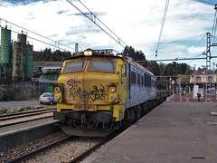 251 (firedmanager) Tags: asturias locomotive mitsubishi locomotora renfe 251 mercancías railtransport renfeoperadora renfemercancías