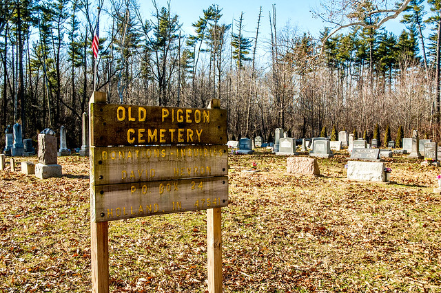 Lincoln State Park - Little Pigeon Creek Cemetery - January 5, 2015