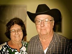 Linda and Wayne {18/365} (therealjoeo) Tags: portrait hat cowboy texas taylor 365 50thanniversary 365project