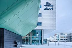 Kanalsletta 1, Forus (Sindre Ellingsen) Tags: winter snow glass norway concrete office europe steel officebuilding block scandinavia sola forus kanalsletta1