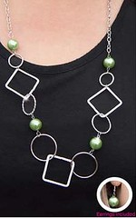 Glimpse of Malibu Green Necklace K1A P2810A-3..