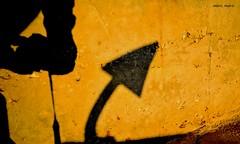 shadows : The play of the sun (mare_maris) Tags: light urban sun sunlight black colors yellow wall concrete photography graphics nikon shadows streetphotography science explore textures elements anchor imagination shooting uniforms dots dimension superstition myshadow bending ocher hesitation fifthdimension illuminating rodserling truelight mypartner ananchor facedwith playofthesun maremaris anchorsshadow thereisafifthdimensionbeyondthatwhichisknowntomanitisadimensionasvastasspaceandastimelessasinfinity itisthemiddlegroundbetweenlightandshadowbetweenscienceandsuperstitionanditliesbetweenthepitofman'sfearsandthesummitofhisknowledge thisisthedimensionofimaginationitisanareawhichwecallthetwilightzone urbansings graphicandessental