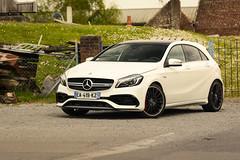 Mercedes-Benz A45 AMG 2016 (Emeric Cadart) Tags: test france cars car french mercedes benz drive article mercedesbenz gt lille press saga a45 supercar amg supercars speedhunter speedguerilla