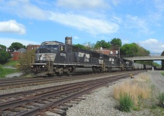 NS 6739, 6738, 7216 (Trains & Trails) Tags: railroad train diesel pennsylvania ns engine transportation locomotive jeannette norfolksouthern emd westmorelandcounty 6739 sd60i widecab