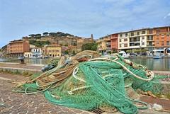Castiglione della Pescaia (giannipiras555) Tags: hotel mare barche chiesa porto castello reti