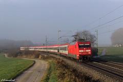DB 101 040 mit EC 111 (TheKnaeggebrot) Tags: br db 101 ag ec eurocity ec111 101040 grabenstätt kbs951
