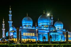 The Grand Mosque Abu Dhabi  (HDR) (leonard_311) Tags: city grand mosque scape abu dhabi hdr the