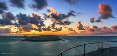 Le Grand B (bertrandlamy) Tags: ocean longexposure sea sun mer seascape france clouds canon landscape soleil brittany bretagne exposition paysage bord couch longue 40d