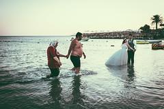 wedding noire (anilaydn) Tags: street wedding sea turkey noir fuji fujifilm popular izmir x100 vsco x100s