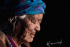 _MG_1157 (harnamsingh1) Tags: life old india beauty lady pain years emotions 103 himachal wrinkels unpredictible