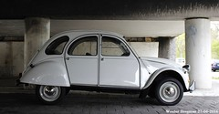 Citron 2CV 1986 (XBXG) Tags: auto old france holland classic netherlands car vintage french automobile nederland citron voiture 2cv frankrijk 1986 paysbas eend geit ancienne 2pk overveen 2cv6 citron2cv franaise deuche deudeuche 87xvjp