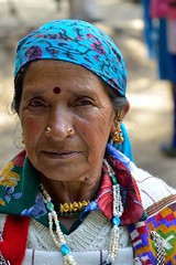 Himachali ... A native from Himachal Pradesh, the himalayan state of India (A_K_B) Tags: lady tribal
