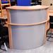 Radial desk