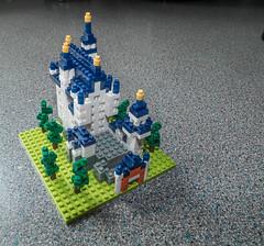 Neuschwanstein 2 (tubblesnap) Tags: castle germany bavaria pieces lego mini micro neuschwanstein schloss nanoblock