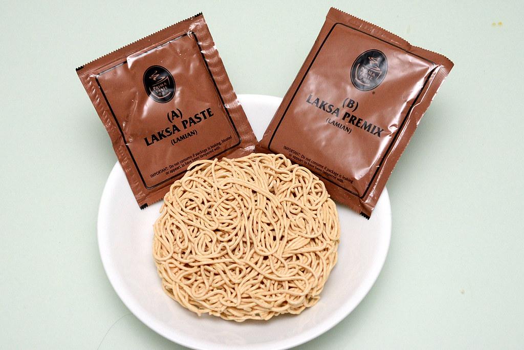 2016速食麵泡麵第一名新加坡百勝廚Laska全麥拉麵