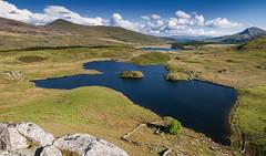 Llyn Y Dywarchen Panorama (Paul Sivyer) Tags: snowdon snowdonia rhydddu drwsycoed llynnantlle llynydywarchen paulsivyer nantllevalley wildwalescom