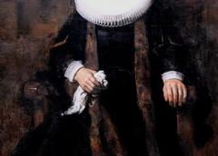IMG_8965F Rembrandt van Rijn  1606-1669. Amsterdam. Portrait of Margaretha de Geer. Wife of Jacob Trip.  vers 1661.   Londres. National Gallery. (jean louis mazieres) Tags: greatbritain london museum painting unitedkingdom muse nationalgallery londres museo peintures peintres grandebretagne rembrandtharmenzvanrijn