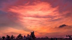 Kovalam (rameshsar) Tags: kovalam mar14 moonlight slowshutter sunset clouds colors chennai sillehoute creative painting canon