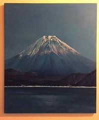 Fuji (SashaLeonie) Tags: painting acrylic fuji canvas mountfuji