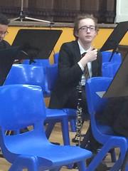 Thumbs Up (Dark Dwarf) Tags: school kids children concert july orchestra clarinet 2016