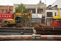 Construction SIte Friezes, Lower East Side, NY, 2016 (Jack Toolin) Tags: newyorkcity urban newyork landscape cities gentrification transition urbanlandscape jacktoolin