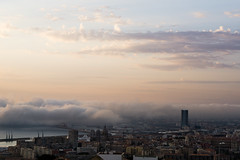 marseille (monsieur ours) Tags: marseille france sunset brume fog clod nuage crpuscule couleur color cityscape paysage