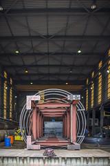 Liftschacht (G. Warrink) Tags: architecture construction industrial steel welding engineering watchtower appelscha bosberg heuvelmanibis