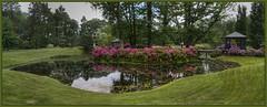 Park Arcen_Panoramablick (Tatjana_2010) Tags: schlossparkarcen park teich blumen rhododendron niederlande