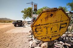 Hackberry. Route 66. (Antonio J. Benete) Tags: road trip usa west bird monument car landscape coast us bend 66 route valley 5d horseshoe navajo estados eeuu 1635 mk3 unidos hackberri