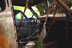 (Mr_Buddis) Tags: car wreck bilkirkegård töckfors x100s fujifilmxseries