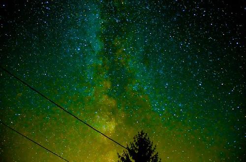 Milky Way Coloured