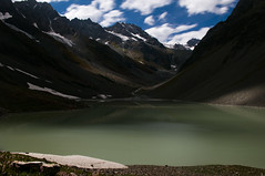Naltar Lake (pasipictures) Tags: pakistan gilgitbaltistan northernareas mountains lake glacier findmyadventurepk naltarvalley naltar karakoram gilgit asia southasia asien südasien himalayas himalaya hiking trekking berge gletscher pentaxkx longexposure
