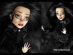 Sybil by Bea N Me Dolls (ithedoll) Tags: beauty monsterhighrepaint bloodgood headless headmistress monsterhigh beanmedolls