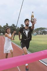 "Just Married - ""10.000m"" (Giulio Gattuso) Tags: atletica athletics sport endurance resistenza corsa running trackandfield campo di birra beer fishing pesca cannadapesca run"