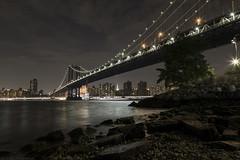 New York_20160910_060 (falconn67) Tags: newyork nyc city travel canon 5dmarkiii 24105l night longexposure bridge manhattan brooklyn manhattanbridge empirestatebuilding