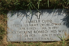 DSC03209 (wpnsmech555) Tags: headstone gravemarker nationalcemeteryhouston cudd