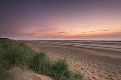 Beach Dune Sunrise (John__Hull) Tags: sunrise east coast dunes mablethorpe uk england seascape clouds sky nikon d3200 sigma 1020mm lincolnshire footprints ripples breath taking