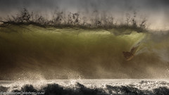eyes wide shut !!! (AndreDiener) Tags: surfing bodyboard boogyboard bigwaves waves windy water sea ocean atlantic westcoast