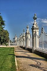Fence Dolmabahe Palace (Ray Cunningham) Tags: dolmabahe palace istanbul turkey ottoman sultan osmanl imparatorluu empire turkish islam