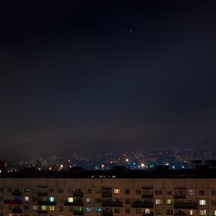 Спальники... #spb #komenda #night #roofs #sky #stars